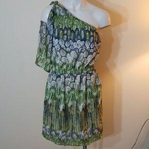 Love 21 one shoulder dress NWOT size M